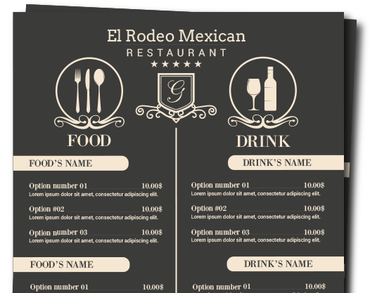 El Rodeo Mexican Menu